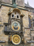 Relógios antigos. Praga. fotografia de stock