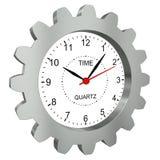 Relógios com engrenagem do metal Foto de Stock
