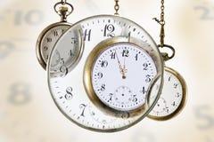 Relógios de bolso Imagem de Stock