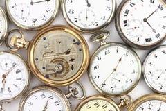 Relógios de bolso Fotografia de Stock Royalty Free