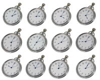 Relógios de bolso Foto de Stock Royalty Free