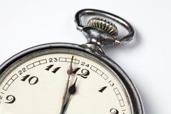 relógios de bolso velhos Fotografia de Stock