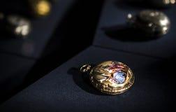 Relógios de bolso velhos Imagens de Stock Royalty Free