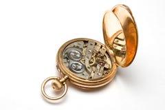 Relógios de bolso velhos Imagens de Stock