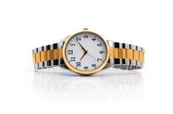 Relógios de ouro Fotografia de Stock