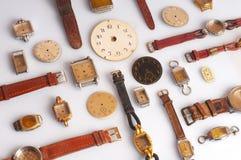 Relógios velhos Fotos de Stock
