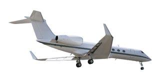 Rel Düsenflugzeug Stockfoto