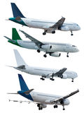 Rel jet planes Royalty Free Stock Image