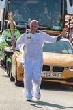 Relè olimpico della torcia di Londra 2012 Fotografia Stock
