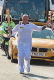 Relé olímpico da tocha de Londres 2012 Foto de Stock