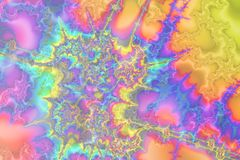 Rel van Pastelkleuren Stock Afbeeldingen
