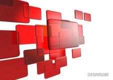 Relação abstrata da tela de toque ilustração stock
