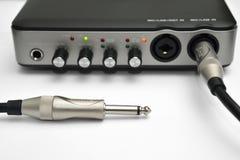 Relação audio Imagem de Stock