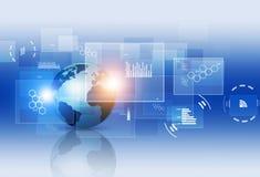 Relação da tecnologia de Digitas Fotografia de Stock