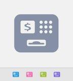 Relação do ATM - ícones do granito ilustração royalty free