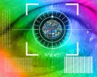 Relação do olho Imagem de Stock Royalty Free