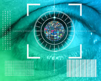 Relação do olho Imagens de Stock
