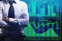 Relação e conceito da finança Fotografia de Stock