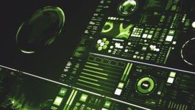 A relação futurista/tela de Digitas/detalhou o fundo abstrato video estoque