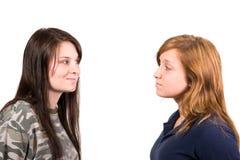 Relações adolescentes Fotografia de Stock Royalty Free
