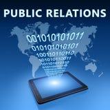 Relações públicas Fotografia de Stock