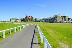 Relações velhas do curso de St Andrews do golfe. Scotland. Imagens de Stock