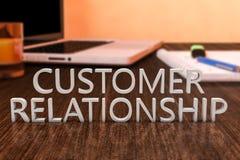 Relacionamento do cliente Fotografia de Stock Royalty Free