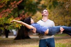 Relacionamento saudável brincalhão fotos de stock