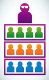 Relacionamento social Fotos de Stock