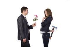 Relacionamentos complicados imagens de stock royalty free