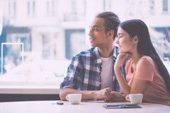 Relacionamentos entre jovens Imagem de Stock Royalty Free