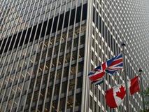 Relaciones canadienses británicas Fotografía de archivo libre de regalías