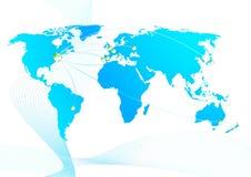 Relaciones comerciales globales Libre Illustration