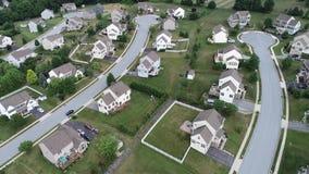 Relaciones nacionales que construyen en Lancaster, Pennsylvania almacen de metraje de vídeo