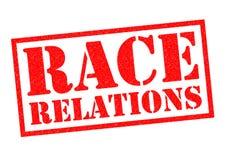 Relaciones raciales ilustración del vector