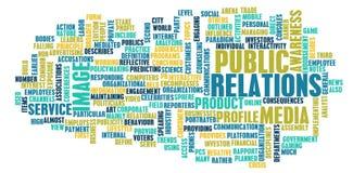 Relações públicas Imagem de Stock Royalty Free