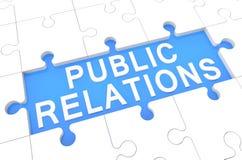 Relações públicas Fotografia de Stock Royalty Free