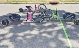 Relais de grande roue Image libre de droits