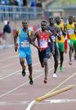 Relais olímpico del mens del desarrollo 4x400 Imagenes de archivo