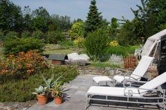 Relajación del jardín Fotografía de archivo