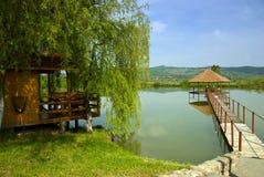 Relajación del lago Imagenes de archivo