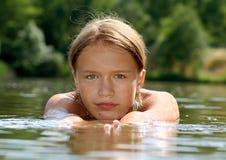 Relajación en el agua Imagenes de archivo