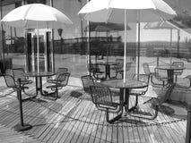 Relajación en el paseo marítimo Imagen de archivo libre de regalías