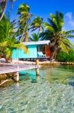 Relajación en la casa de playa imagen de archivo libre de regalías