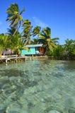 Relajación en la casa de playa imágenes de archivo libres de regalías