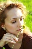 Relajación en la hierba imagen de archivo libre de regalías
