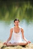 Relajación en la meditación Fotografía de archivo libre de regalías