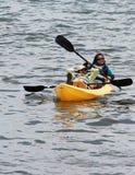 Relajación en las aguas Imagen de archivo