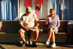 Relajación en un día de verano Imagen de archivo libre de regalías
