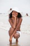 Relajación por la playa fotografía de archivo